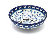 Ceramika Artystyczna Polish Pottery Bowl - Contemporary Salad - Boo Boo Kitty B90-1771a (Ceramika Artystyczna)