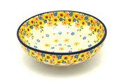 Ceramika Artystyczna Polish Pottery Bowl - Contemporary Salad - Buttercup B90-2225a (Ceramika Artystyczna)