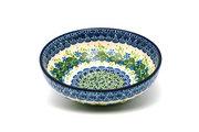 Ceramika Artystyczna Polish Pottery Bowl - Contemporary Salad - Ivy Trail B90-1898a (Ceramika Artystyczna)