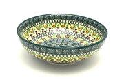 Ceramika Artystyczna Polish Pottery Bowl - Contemporary Salad - Mint Chip B90-2195q (Ceramika Artystyczna)