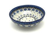 Ceramika Artystyczna Polish Pottery Bowl - Contemporary Salad - Silver Lace B90-2158a (Ceramika Artystyczna)