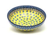 Ceramika Artystyczna Polish Pottery Bowl - Contemporary Salad - Sunburst B90-859a (Ceramika Artystyczna)