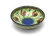 Ceramika Artystyczna Polish Pottery Bowl - Contemporary Salad - Unikat Signature - U2663 B90-U2663 (Ceramika Artystyczna)