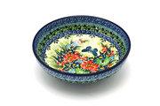 Ceramika Artystyczna Polish Pottery Bowl - Contemporary Salad - Unikat Signature - U4553 B90-U4553 (Ceramika Artystyczna)