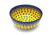 Ceramika Artystyczna Polish Pottery Bowl - Coupe Cereal - Sunburst C38-859a (Ceramika Artystyczna)