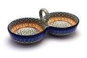 Ceramika Artystyczna Polish Pottery Bowl - Double Serving - Autumn 942-050a (Ceramika Artystyczna)