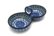 Ceramika Artystyczna Polish Pottery Bowl - Double Serving - Aztec Sky 942-1917a (Ceramika Artystyczna)