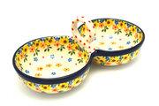 Ceramika Artystyczna Polish Pottery Bowl - Double Serving - Buttercup 942-2225a (Ceramika Artystyczna)
