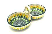 Ceramika Artystyczna Polish Pottery Bowl - Double Serving - Daffodil 942-2122q (Ceramika Artystyczna)
