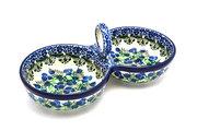 Ceramika Artystyczna Polish Pottery Bowl - Double Serving - Huckleberry 942-1413a (Ceramika Artystyczna)