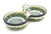 Ceramika Artystyczna Polish Pottery Bowl - Double Serving - Ivy Trail 942-1898a (Ceramika Artystyczna)