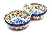 Ceramika Artystyczna Polish Pottery Bowl - Double Serving - Maraschino 942-1916a (Ceramika Artystyczna)