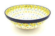 "Ceramika Artystyczna Polish Pottery Bowl - Grand Nesting (10 3/4"") - Buttercup 055-2225a (Ceramika Artystyczna)"