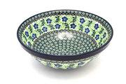 "Ceramika Artystyczna Polish Pottery Bowl - Grand Nesting (10 3/4"") - Sweet Violet 055-1538a (Ceramika Artystyczna)"