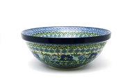 "Ceramika Artystyczna Polish Pottery Bowl - Grand Nesting (10 3/4"") - Unikat Signature U4520 055-U4520 (Ceramika Artystyczna)"