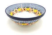 "Ceramika Artystyczna Polish Pottery Bowl - Grand Nesting (10 3/4"") - Unikat Signature U4741 055-U4741 (Ceramika Artystyczna)"
