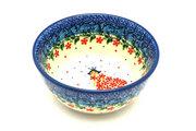 Ceramika Artystyczna Polish Pottery Bowl - Ice Cream/Dessert - Crown Princess 017-2286a (Ceramika Artystyczna)
