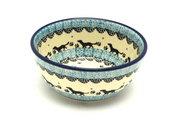 Ceramika Artystyczna Polish Pottery Bowl - Ice Cream/Dessert - Diggity Dog 017-2152a (Ceramika Artystyczna)