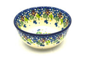 Ceramika Artystyczna Polish Pottery Bowl - Ice Cream/Dessert - Plum Luck 017-2509a (Ceramika Artystyczna)
