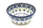 Ceramika Artystyczna Polish Pottery Bowl - Ice Cream/Dessert - Silver Lace 017-2158a (Ceramika Artystyczna)