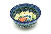 Ceramika Artystyczna Polish Pottery Bowl - Ice Cream/Dessert - Unikat Signature U4553 017-U4553 (Ceramika Artystyczna)