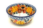 Ceramika Artystyczna Polish Pottery Bowl - Ice Cream/Dessert - Unikat Signature U4741 017-U4741 (Ceramika Artystyczna)