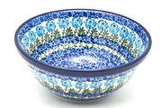 "Ceramika Artystyczna Polish Pottery Bowl - Large Nesting (7 1/2"") - Antique Rose 057-1390a (Ceramika Artystyczna)"