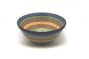 "Ceramika Artystyczna Polish Pottery Bowl - Large Nesting (7 1/2"") - Autumn 057-050a (Ceramika Artystyczna)"
