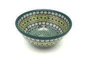 "Ceramika Artystyczna Polish Pottery Bowl - Large Nesting (7 1/2"") - Aztec Forest 057-1919q (Ceramika Artystyczna)"