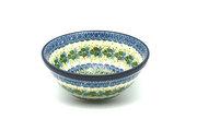 "Ceramika Artystyczna Polish Pottery Bowl - Large Nesting (7 1/2"") - Ivy Trail 057-1898a (Ceramika Artystyczna)"