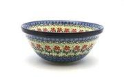 "Ceramika Artystyczna Polish Pottery Bowl - Large Nesting (7 1/2"") - Maraschino 057-1916a (Ceramika Artystyczna)"