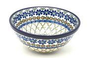 "Ceramika Artystyczna Polish Pottery Bowl - Large Nesting (7 1/2"") - Primrose 057-854a (Ceramika Artystyczna)"