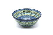 "Ceramika Artystyczna Polish Pottery Bowl - Large Nesting (7 1/2"") - Tranquility 057-1858a (Ceramika Artystyczna)"