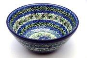 """Ceramika Artystyczna Polish Pottery Bowl - Large Nesting (7 1/2"""") - Unikat Signature U4520 057-U4520 (Ceramika Artystyczna)"""