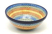 "Ceramika Artystyczna Polish Pottery Bowl - Larger Nesting (9"") - Autumn 056-050a (Ceramika Artystyczna)"