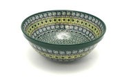 "Ceramika Artystyczna Polish Pottery Bowl - Larger Nesting (9"") - Aztec Forest 056-1919q (Ceramika Artystyczna)"