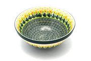 "Ceramika Artystyczna Polish Pottery Bowl - Larger Nesting (9"") - Daffodil 056-2122q (Ceramika Artystyczna)"