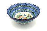 """Ceramika Artystyczna Polish Pottery Bowl - Larger Nesting (9"""") - Unikat Signature U4553 056-U4553 (Ceramika Artystyczna)"""