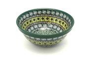 "Ceramika Artystyczna Polish Pottery Bowl - Medium Nesting (6 1/2"") - Aztec Forest 058-1919q (Ceramika Artystyczna)"