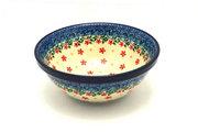 "Ceramika Artystyczna Polish Pottery Bowl - Medium Nesting (6 1/2"") - Cherry Jubilee 058-2284a (Ceramika Artystyczna)"