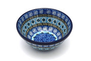 """Ceramika Artystyczna Polish Pottery Bowl - Small Nesting (5 1/2"""") - Aztec Sky 059-1917a (Ceramika Artystyczna)"""