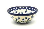 """Ceramika Artystyczna Polish Pottery Bowl - Small Nesting (5 1/2"""") - Bleeding Heart 059-377o (Ceramika Artystyczna)"""