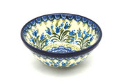 """Ceramika Artystyczna Polish Pottery Bowl - Small Nesting (5 1/2"""") - Blue Bells 059-1432a (Ceramika Artystyczna)"""