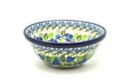"""Ceramika Artystyczna Polish Pottery Bowl - Small Nesting (5 1/2"""") - Blue Berries 059-1416a (Ceramika Artystyczna)"""