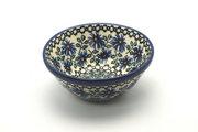"""Ceramika Artystyczna Polish Pottery Bowl - Small Nesting (5 1/2"""") - Blue Chicory 059-976a (Ceramika Artystyczna)"""