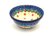 """Ceramika Artystyczna Polish Pottery Bowl - Small Nesting (5 1/2"""") - Cherry Jubilee 059-2284a (Ceramika Artystyczna)"""