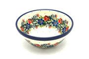 """Ceramika Artystyczna Polish Pottery Bowl - Small Nesting (5 1/2"""") - Garden Party 059-1535a (Ceramika Artystyczna)"""