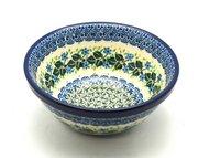 """Ceramika Artystyczna Polish Pottery Bowl - Small Nesting (5 1/2"""") - Ivy Trail 059-1898a (Ceramika Artystyczna)"""