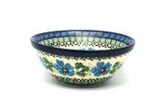 """Ceramika Artystyczna Polish Pottery Bowl - Small Nesting (5 1/2"""") - Morning Glory 059-1915a (Ceramika Artystyczna)"""