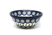 """Ceramika Artystyczna Polish Pottery Bowl - Small Nesting (5 1/2"""") - Peacock 059-054a (Ceramika Artystyczna)"""